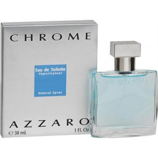 Azzaro Chrome Eau De Toilette Spray 30 ml Uomo