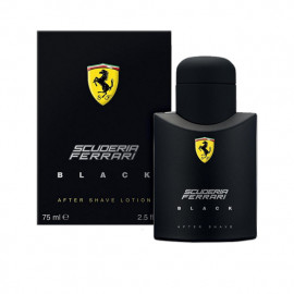 FERRARI SCUDERIA BLACK AfterShave LOTION 75 ml