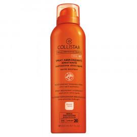 Collistar Maxi-Taglia Spray Abbronzante Idratante Applicazione Ultra-Rapida Media 20 200 ml