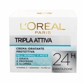 L`Oreal Dermo Expertise Tripla Attiva Crema Giorno Pelli Normali o Miste 50 ml