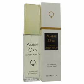 ALYSSA ASHLEY Ambree Gris eau parfumee Cologne Spray 100ml