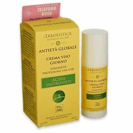 Athena L'Erboristica Crema Viso Giorno Antietà Globale 50 ml. con Acido Ialuronico