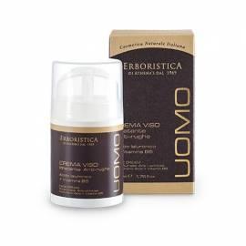 Athena's l'Erboristica Uomo Crema Viso Idratante Anti-rughe Acido Ialuronico + Vitamina B5 50 ml