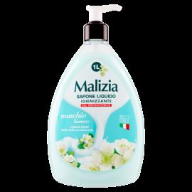 Malizia Sapone Liquido Igienizzante muschio bianco 1 L