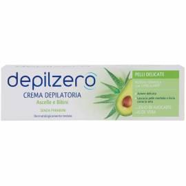 Depilzero crema depilatoria ascelle e bikini con olio di avocado e aloe vera 75ml