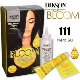 Dikson 2 in 1 Crema Colorante Nero Blu 111