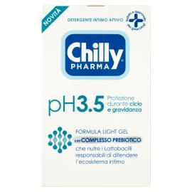 Chilly Pharma Detergente Intimo Attivo pH3.5 Protezione durante ciclo e gravidanza 250 ml