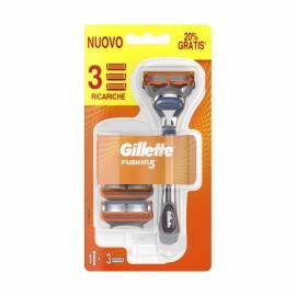 Gillette Fusion5 rasoio + 3 ricariche lamette