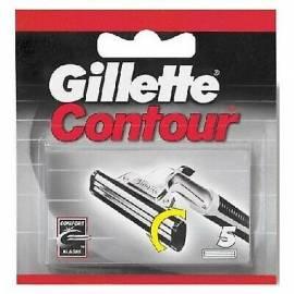 Gillette Ricariche per Rasoio da Barba Contour