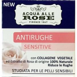 ACQUA ALLE ROSE Crema Viso Antirughe Sensitive 50 Ml