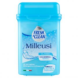 Fresh&Clean - Milleusi salviette classico 40 pz