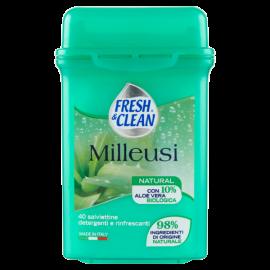 Fresh&Clean - Milleusi salviette white musk 40 pz