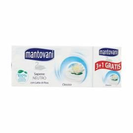 Mantovani sapone neutro 100 gr. x 4
