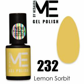 Mesauda me 5 ml gel polish ice lollies 232 lemon sorbet