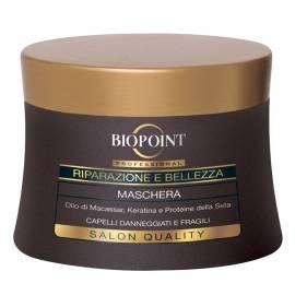Biopoint Riparazione e Bellezza maschera capelli danneggiati e fragili 250 ml