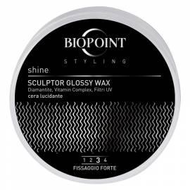 Biopoint Styling Sculptor Glossy Wax cera lucidante fissaggio forte 100 ml