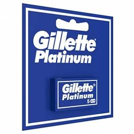 GILLETTE PLATINUM LAME X 5 PZ