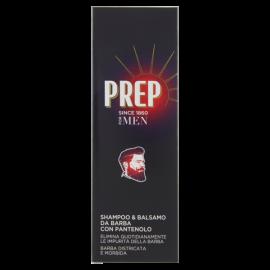 Prep For Men Shampoo & Balsamo da Barba con Pantenolo 100 ml