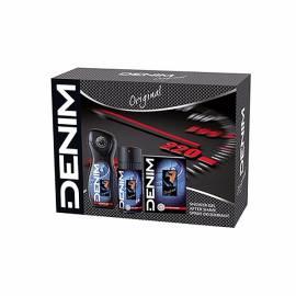 Denim - Cofanetto original - after shave 100 ml + deo 150 ml spray + shower gel 250 ml